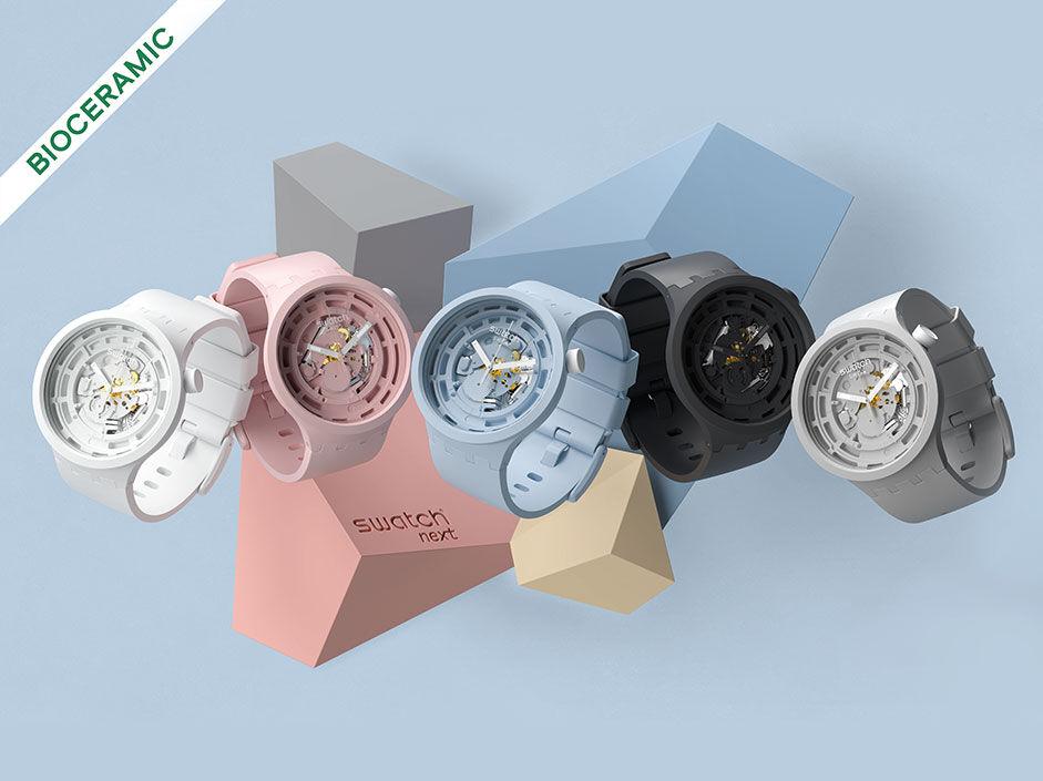 Swatch Bioceramic watches