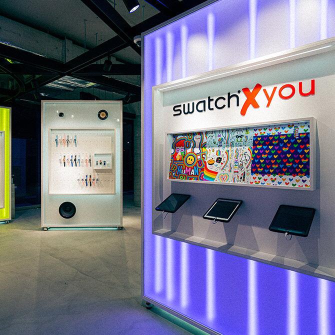 Swatch X You in Harajuku