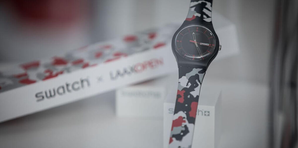 Special watch for Laax Event
