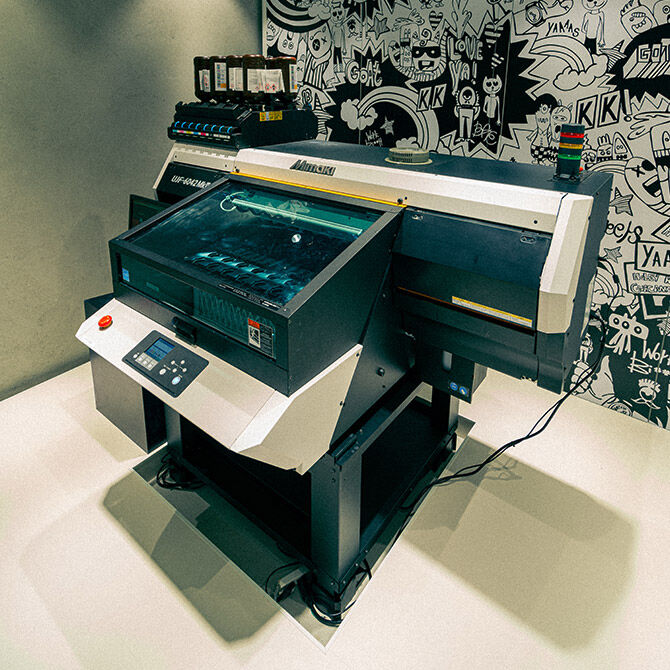 Swatch X You printer in Harajuku