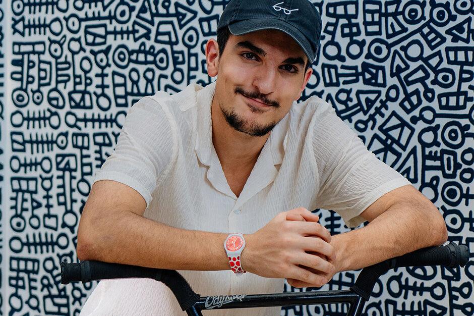 Akram Alneiamy, BMX rider
