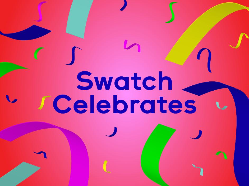 Swatch Celebrates with destination watches