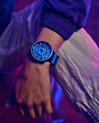 Blue watch