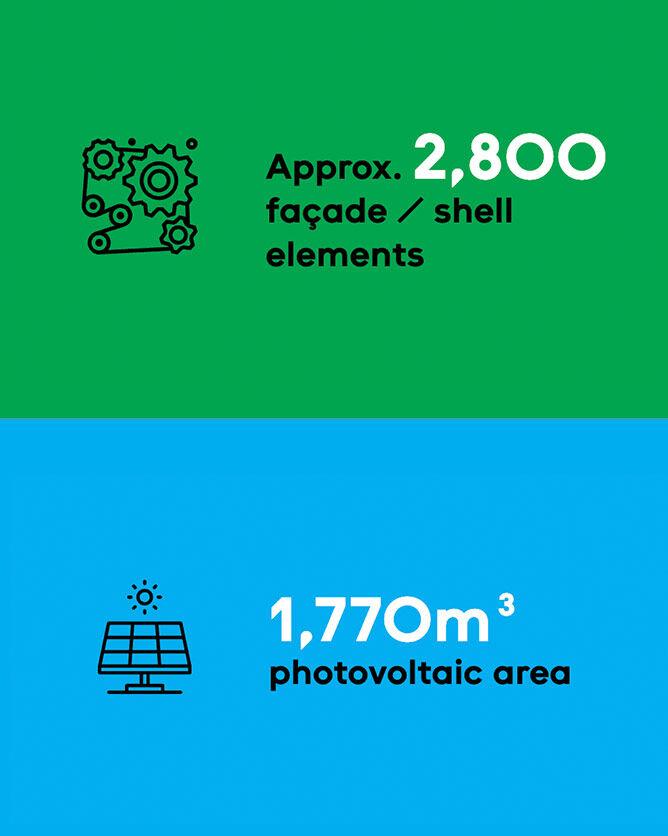 2800 facade components