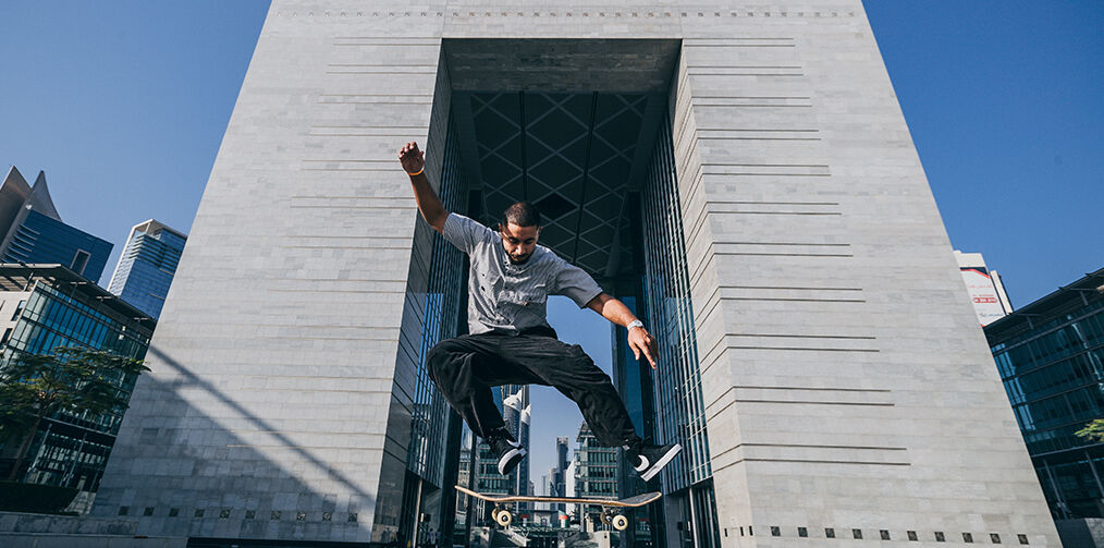 Skater for Dubai expo 2020