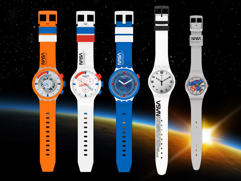 Space collection watches