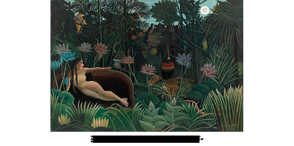 The Dream (1910) by Henri Rousseau