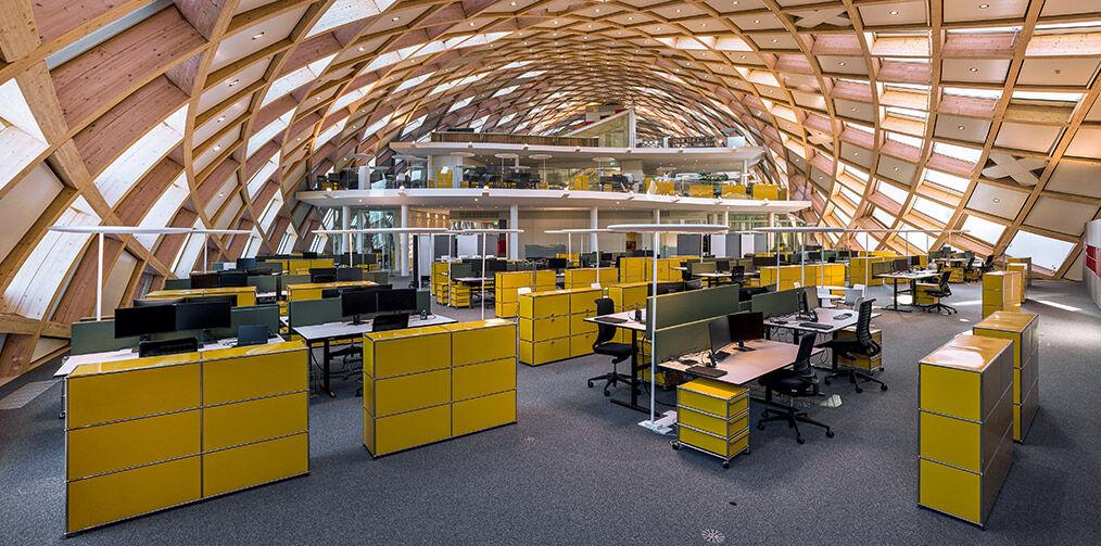 Swatch HQ ground floor on yellow usm