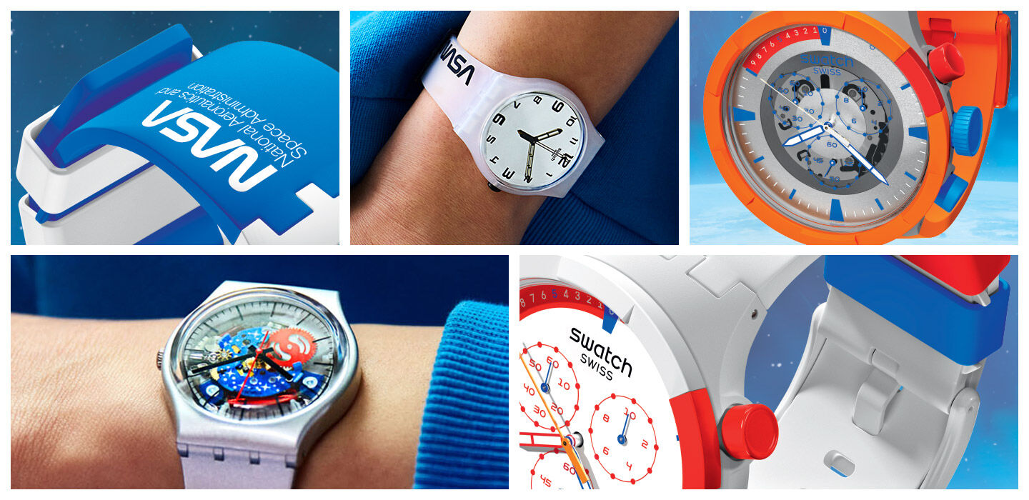 USP of Space collection watches